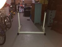 Squat rack with adjustable arms for various workouts  283 mi