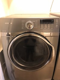 gray Samsung front-load clothes washer Brunswick, 21716