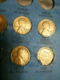 four round gold-colored coins Victorville, 92392