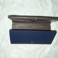 black and blue leather wallet Sacramento