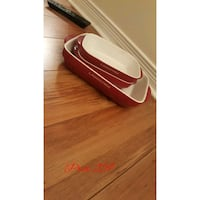white and red plastic container Laval, H7X 3R8