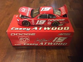 Casey atwood dodge die cast racing car model