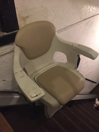 White and gray stair lift  works great just needs to be broken down .best offer Boston