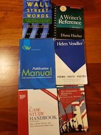 Writing and reference books
