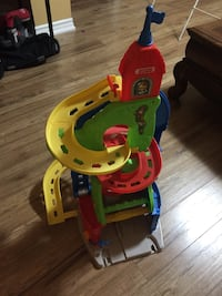 Fisher price car ramp two ways to play with two cars