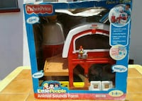 Fisher-Price little people animal sound farm playset in box Los Angeles, 90061