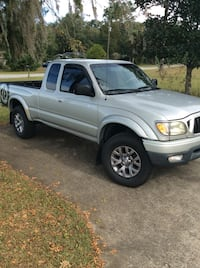 silver Toyota Tacoma crew cab pickup truck Dade City, 33523