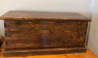 Brown solid wooden chest Toronto, M6C 1C2