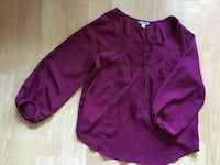 American Eagle ladies blouse, 3/4 sleeve, polyester, Med $8
