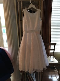 White lace dress size14-16 girls size Gainesville, 20155
