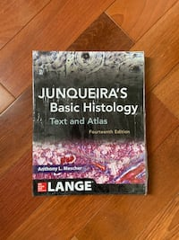 Junqueira's Basic Histogy: Text and Atlas 14th edition  Toronto, M2M 3E8