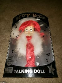 1998 betty boop talking doll with RED dress and RE Middle River, 21220