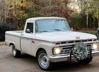 white single cab pickup truck 835 mi