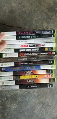 Xbox 360 games. All or none Coquitlam, V3J 1W8