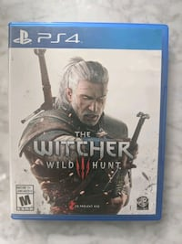The Witcher 3: Wild Hunt  PS4 Video Game