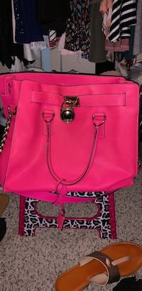 women's red leather 2-way bag Harker Heights, 76548