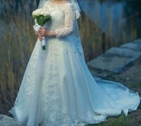 Wedding dress size 12 Montréal, H2L 3V3