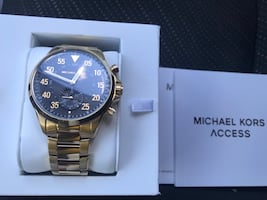 Michael kors mens access gold smartwatch