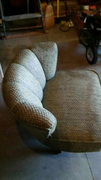 brown padded sofa chair Baltimore, 43105