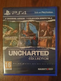 Caso de juego Uncharted 4 PS4