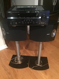 Yamaha Receiver and Bose 301 Speakers with stand and speaker wire/connectors Sterling, 20164