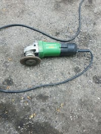 green and black angle grinder Oakville, L6L 2W4
