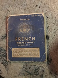 Old French book Magnolia, 77355
