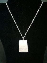 Free with purchase Rose Quartz Necklace (2 pic)