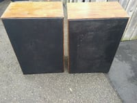 $25 for both broken vintage speakers Toronto