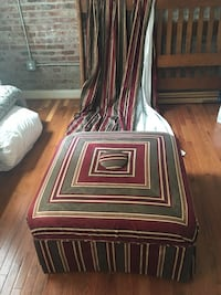 Ottoman and Curtains, Luxury