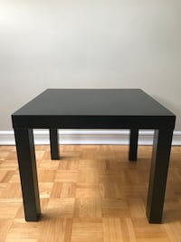 square black wooden side table Toronto, M6G