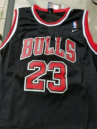 black and red Chicago Bulls 23 jersey Annandale, 22003
