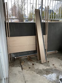 Ikea four poster bed needs repainting