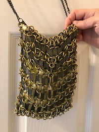 "One Of A Kind Creative ""Zipper"" Pocketbook Made from Recycled Material  Frederick"
