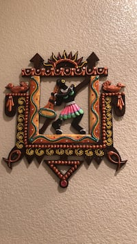 Two Black and brown wooden wall decor Fremont, 94536