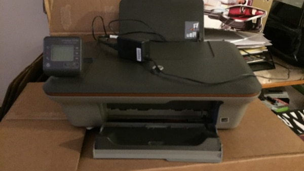 HP Deskjet 3050A print scan copy works almost new ink