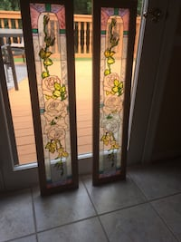 Stained glass window/sidelights