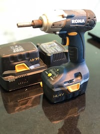 14.4 V impact driver with 2 batteries and charger . Pick up in Richmond hill. Richmond Hill