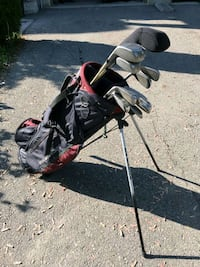 Golf clubs with bag Vaughan