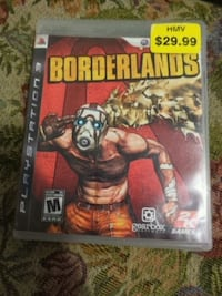 Ps3 borderlands (mint condition) Calgary, T2V