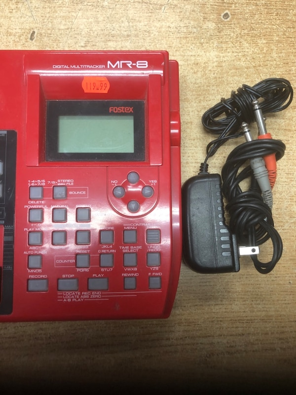 Fostex MR8 8-Track Digital Recorder with Built-In FX ...... ab77b8ba-d00d-4ffb-88a1-e3bc5dce1446