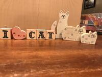 """All wooden cat decor/""""Free"""" with any cat Purchase on my listing !!!! Gainesville, 20155"""