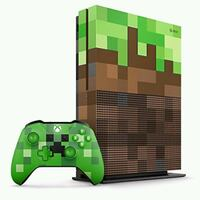 250$ XBOX ONE S MINECRAFTLIMITED EDITION BUNDLE 250$  Montreal, H3V 1C4