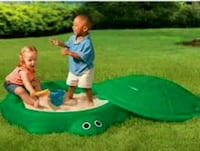 baby's green and blue activity saucer El Paso, 79938