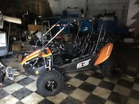 2016 polaris hammerhead side by only 50 miles on machine