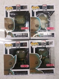 Marvel 80 years Target Exclusive Patina Funko Pops Alpharetta