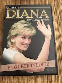 Princesse Diana DVD Paris, 75015