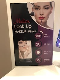 Makeup looking mirror with bright light and a small magnifying mirror Sandnes, 4314