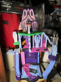 Monster high play set kids toy