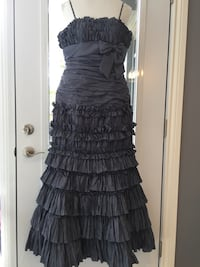 Formal evening gown with shawl